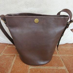 Madewell Brown Leather Bag NWT
